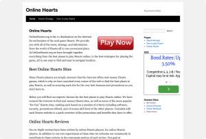 onlinehearts.org screenshot